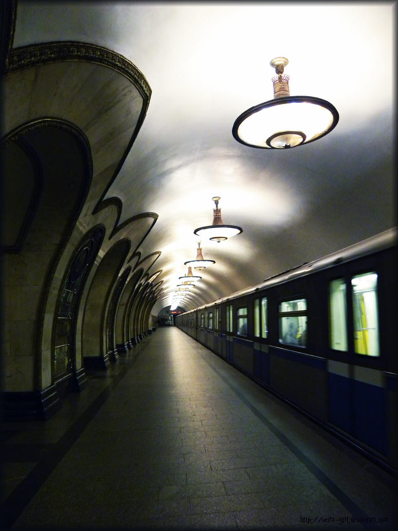Art of Moscow Metro. 12. by VeIra-girl