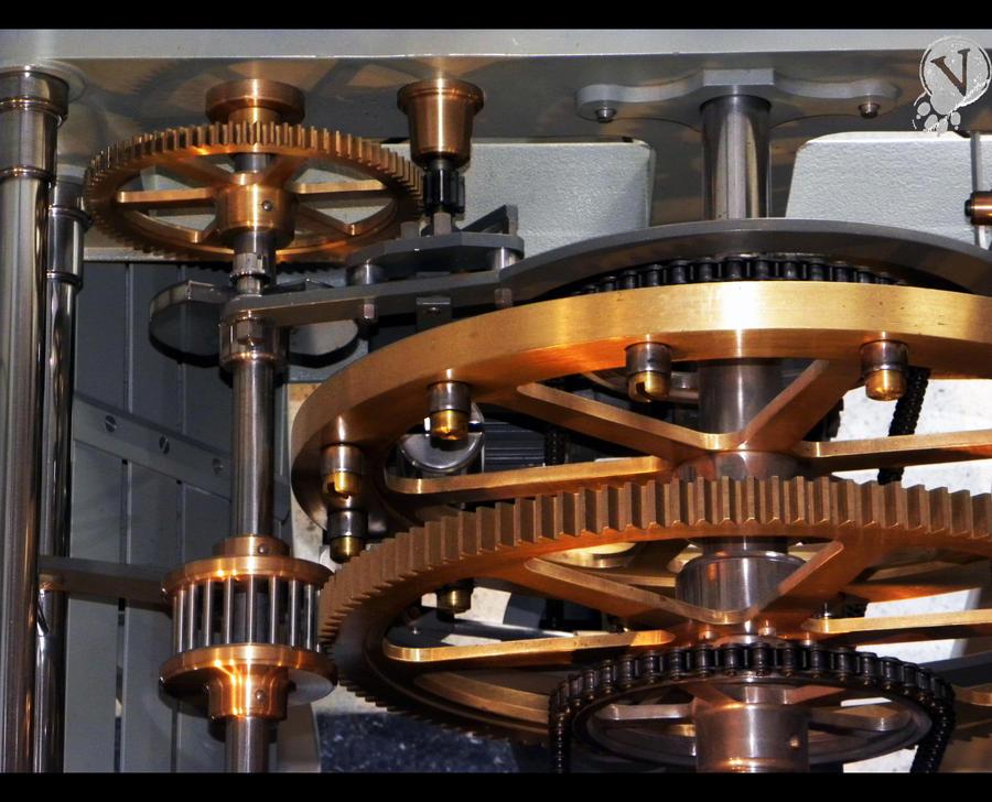 Mechanism of towers clocks. by VeIra-girl