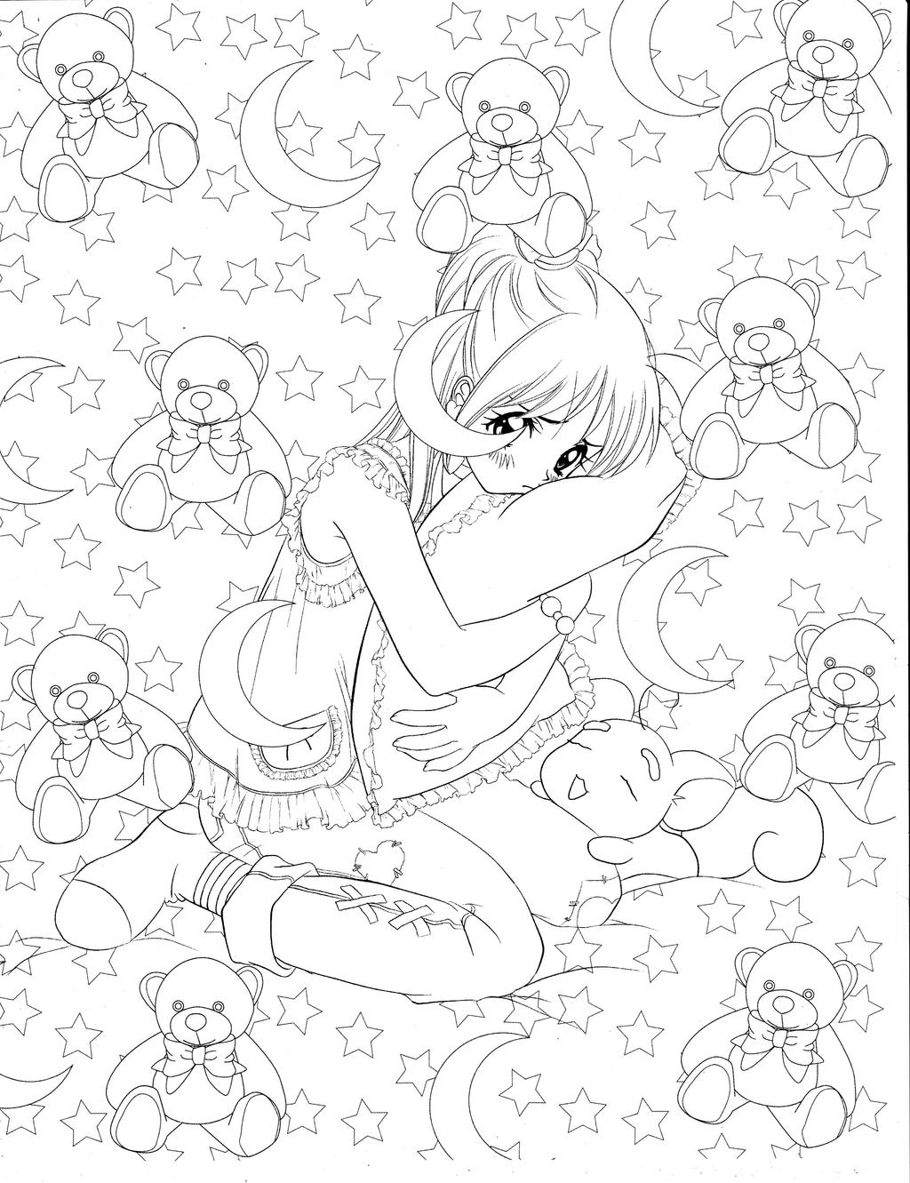 Manga Coloring Book by Christopher-Hart on DeviantArt