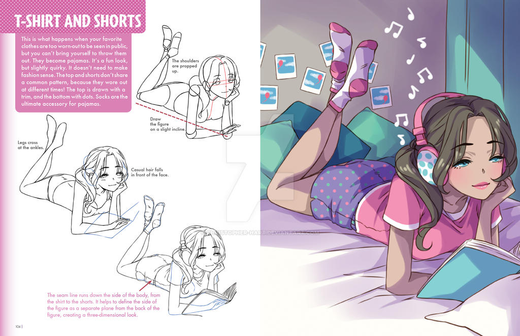 The Manga Fashion Bible by Christopher-Hart