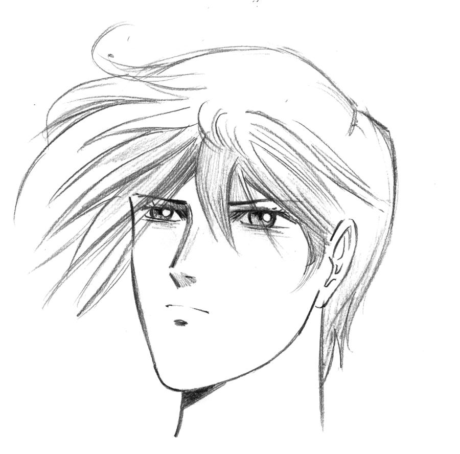 Anime guy oc by christopher hart