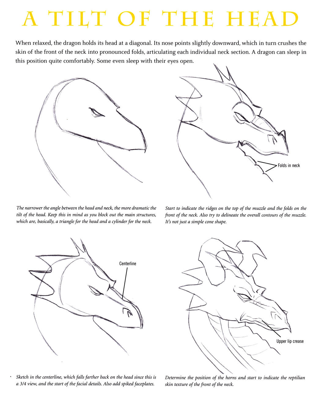 how to draw a dragon body step by step