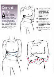 Drawing Tip: Crossed Arms by Christopher-Hart