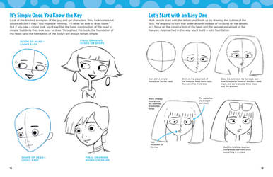 LEARN TO DRAW CARTOONS - BOOK TUTORIAL
