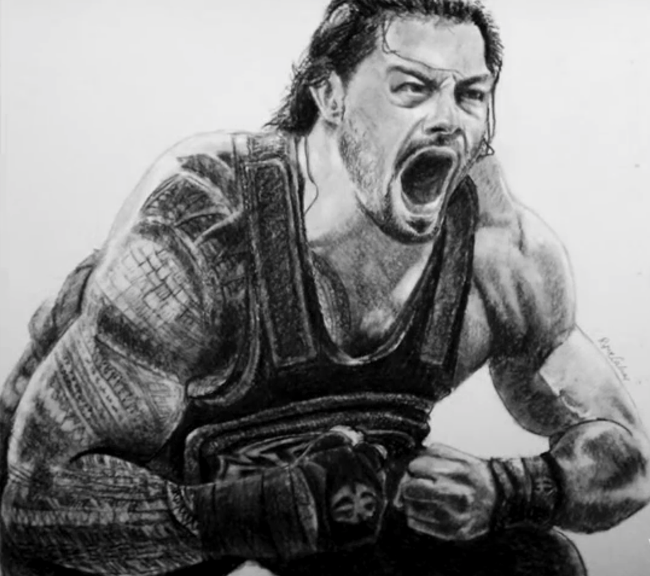 Uncategorized Wwe Drawing Pictures wwe roman reigns by yunohrc on deviantart yunohrc