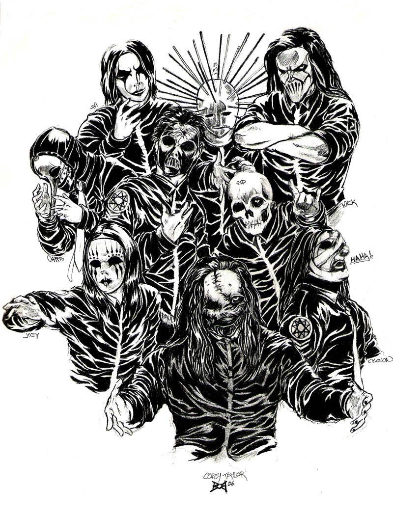 Slipknot, Legends and Artworks on Pinterest