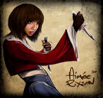 Wheel of Time's Min Farshaw by Gingybeer