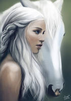 Daenerys Targaryen by Gingybeer