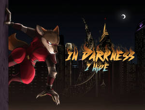In Darkness I Hide Fanfic Cover - by Temiree