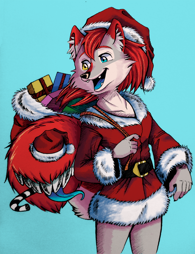 santa taylor colored by sendraxmon by darkflame wolf