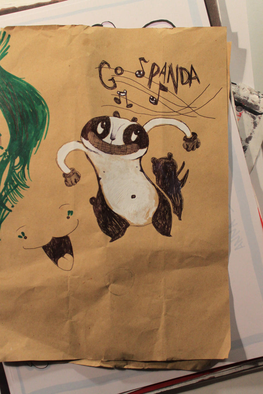 """not to say """"No"""" to the Panda by CosmicHen"""
