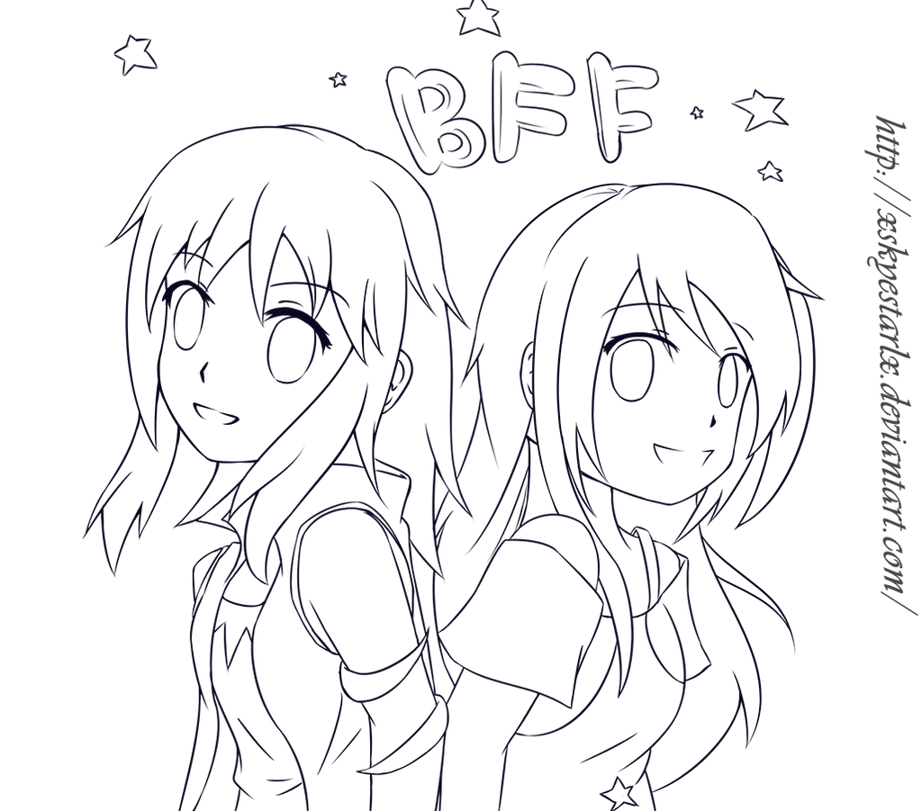 Request Naomi999 BFF by Syea