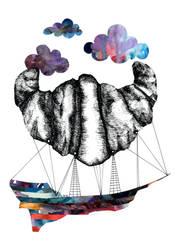 Intergalactic Zeppelin by KammFlower