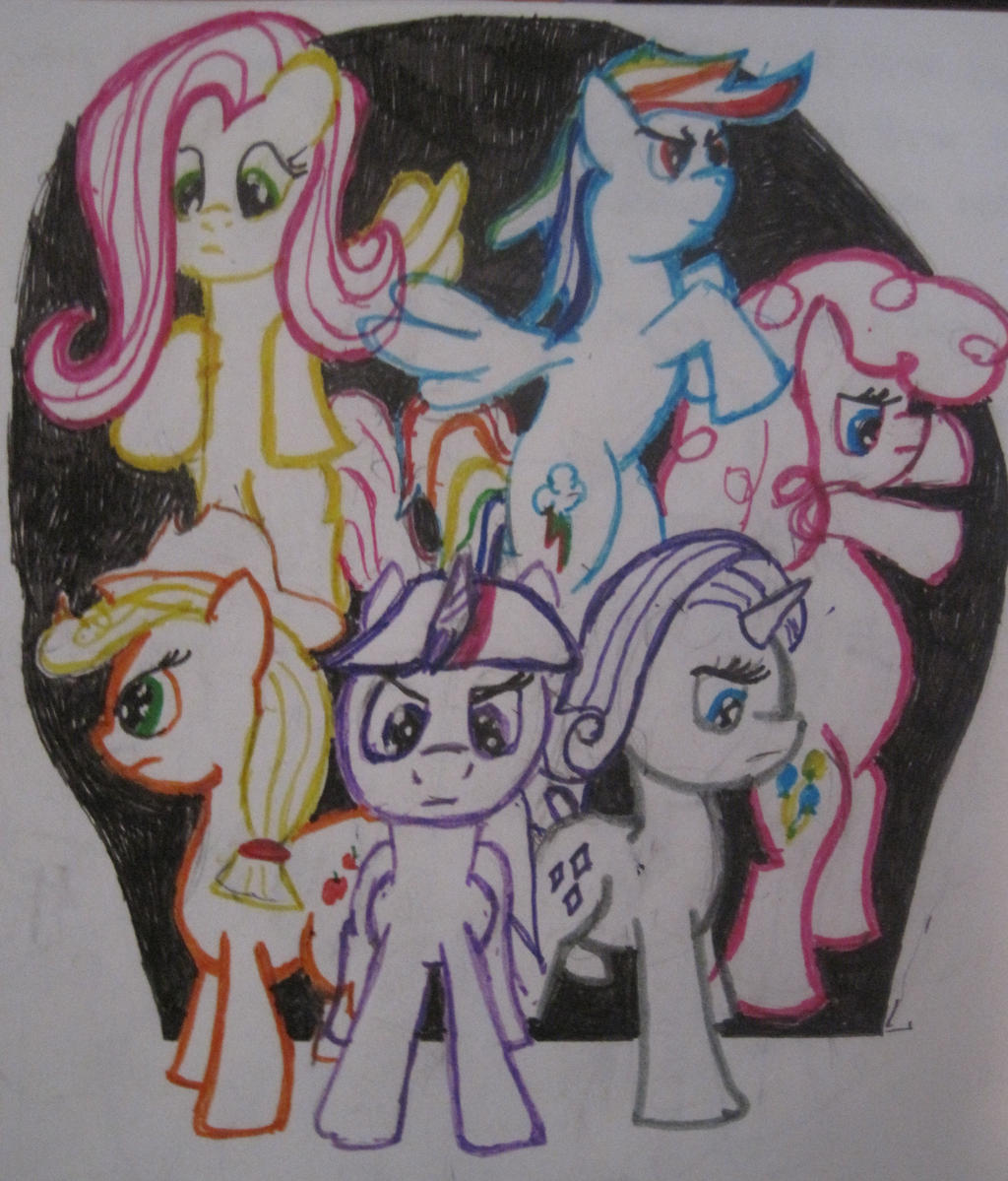 Epic pony pose by ShadowDash1901