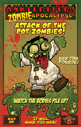 PZ-0-Poster Attack of the Pot Zombies by pdenike