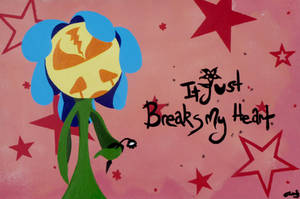 Heart Broken Flower by NewWorldPunk