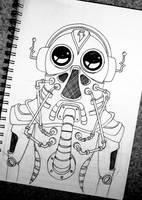 Robot No.1 by NewWorldPunk
