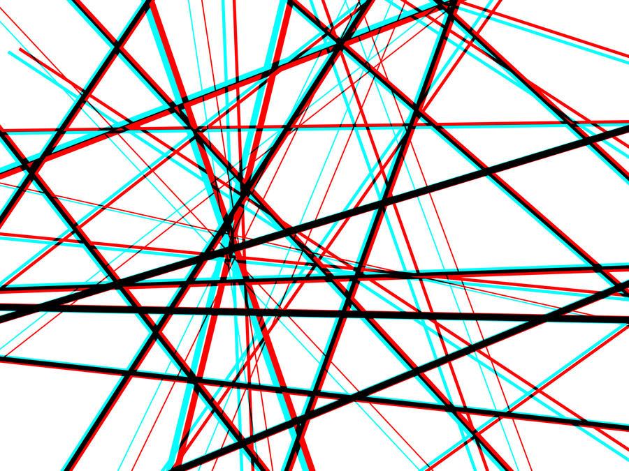Line Art Website : Line web anaglyph by newworldpunk on deviantart