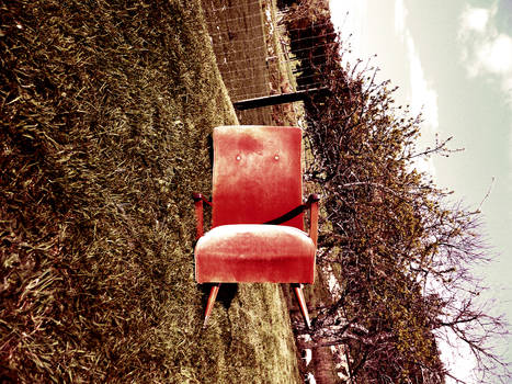 Chair With a Different Horizon