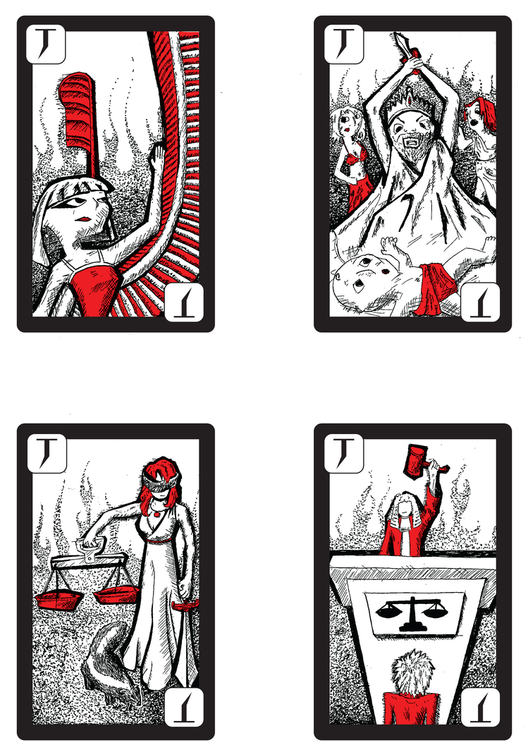 Slap and Tickle cards by NewWorldPunk