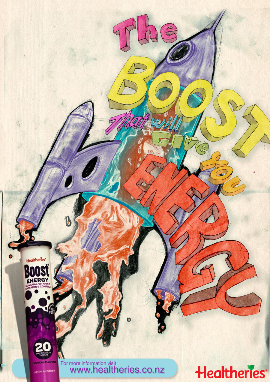 Boost Ad - Rocket by NewWorldPunk