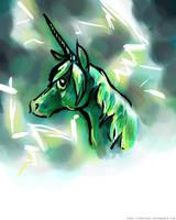 Storm Unicorn by Tavoriel