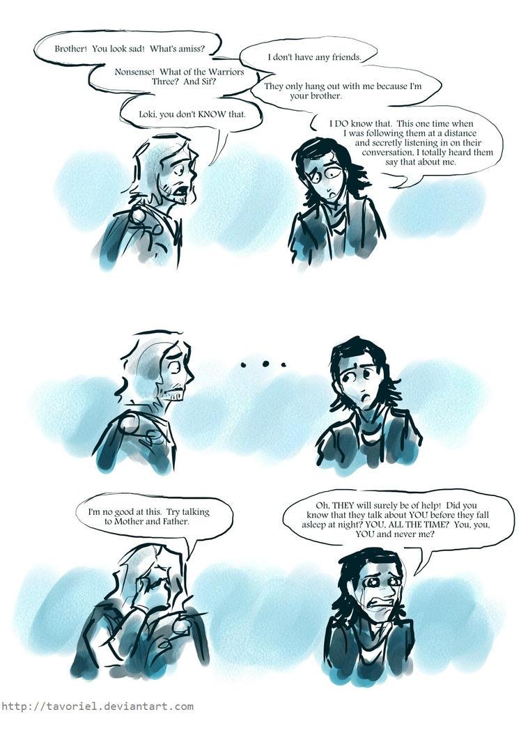 Loki -- No Friends by Tavoriel