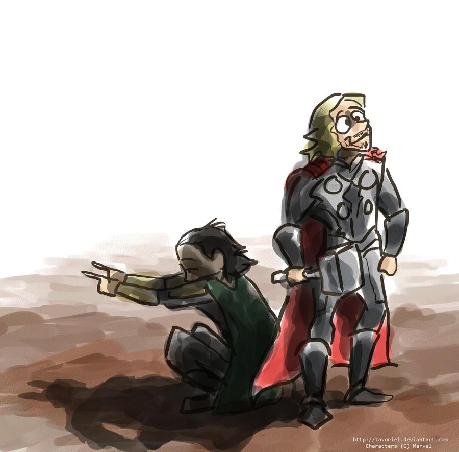 Loki -- In Your Shadow by Tavoriel