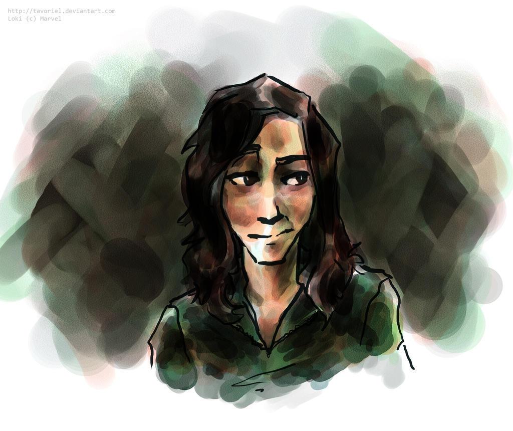 Loki -- Heh by Tavoriel