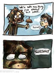 And then one day Sirius Black went crazy