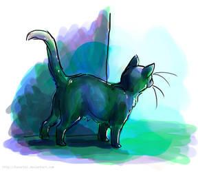 cat by Tavoriel