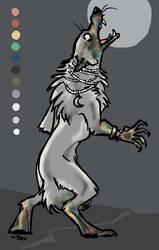 [OPEN] Tarnished Werewolf Adopt, $12 USD