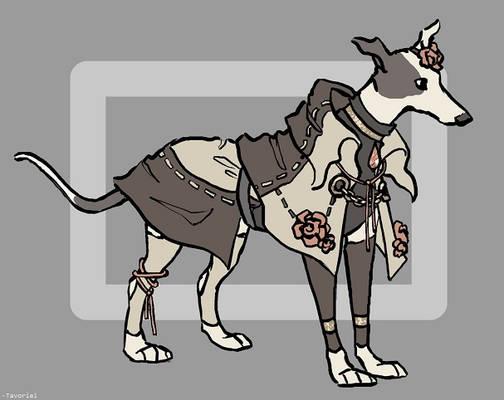 [CLOSED] Elegant Greyhound Adopt, $40 USD