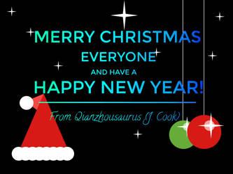 Merry Christmas! by Qianzhousaurus