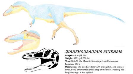 Field Guide: Qianzhousaurus sinensis by Qianzhousaurus