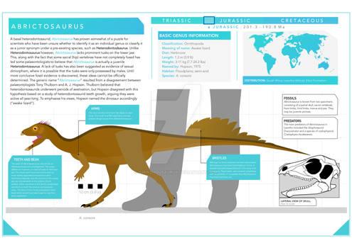 Abrictosaurus infographic