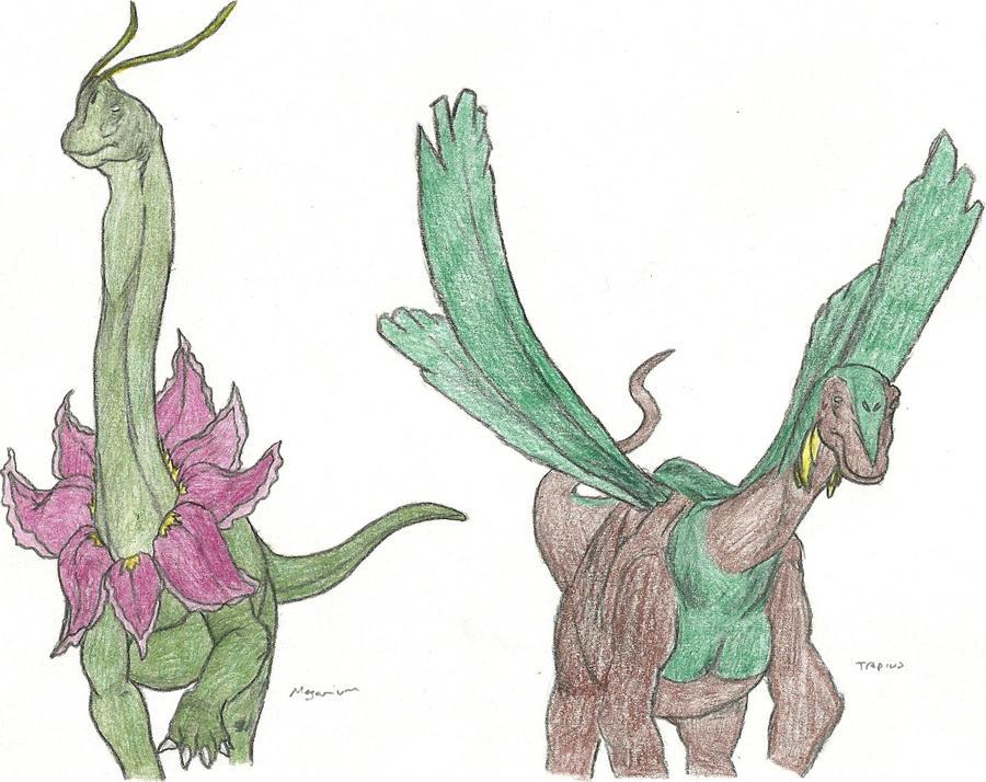 Realistic Meganium How to draw pokemon (T...