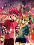 Prince Gumball and Fionna (again)
