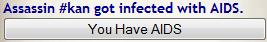 kan has aids by Twilihazard