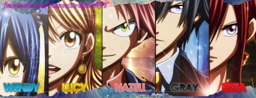 Fairy Tail- Wendy, Lucy, Natsu,Gray, Erza by kareen3103 on ...