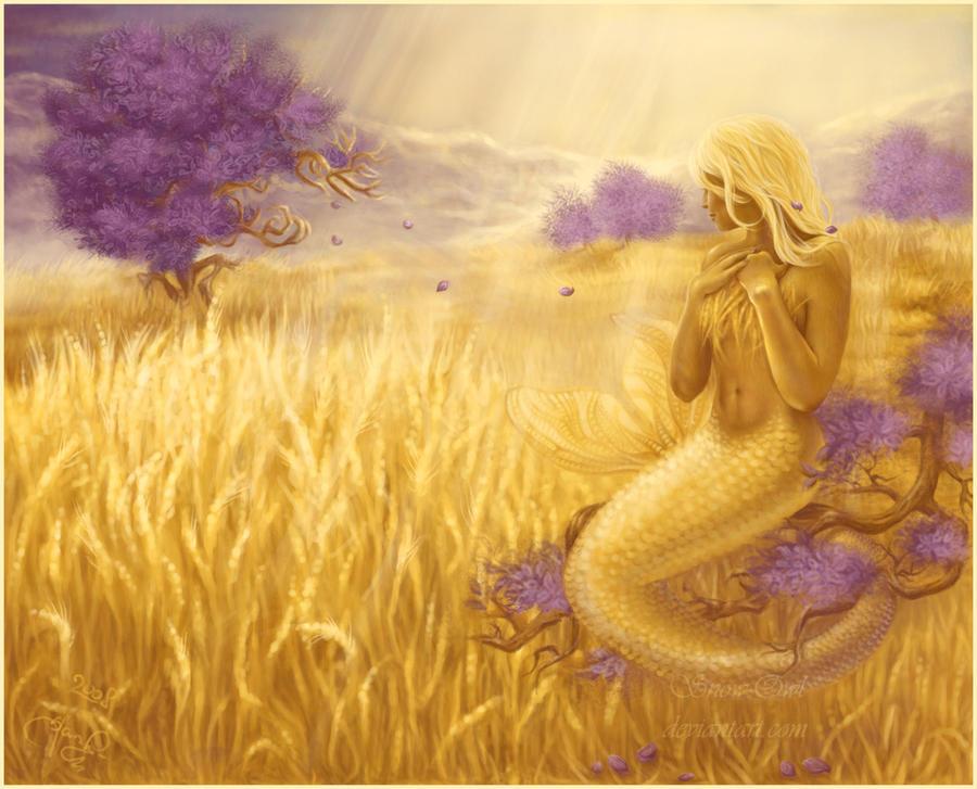 In The Field of Purple Dreams by Snow-Owl on deviantART