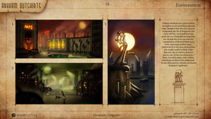 Horror and Steel - Arkham Outskirts Thumbnails