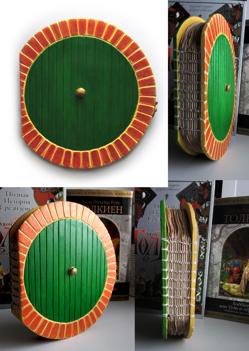 Hobbit door by Callisto-J4