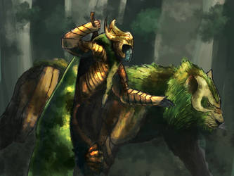 The hunter by bjenssen
