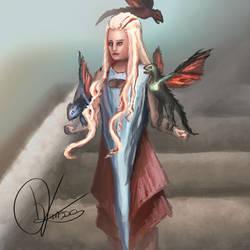 Khaleesi by bjenssen