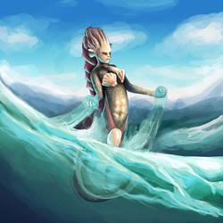 Mermaid by bjenssen