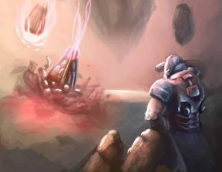 Exploring Worlds (Dawn of war III fanart) by bjenssen