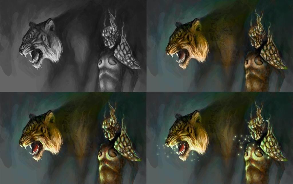 Hunter Progress by bjenssen
