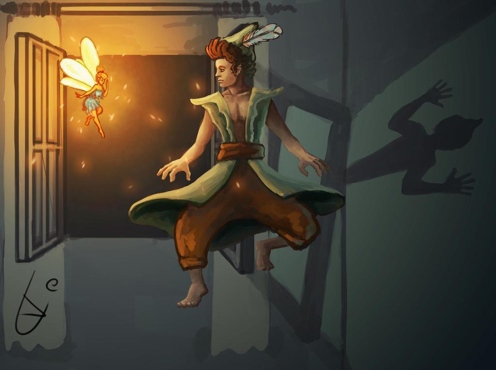 Peter Pan by bjenssen