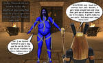 Seth Has A Taste For The Blues by darknessofanubis